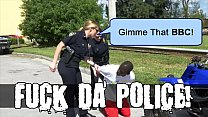 BLACK PATROL - Illegal Street Racing Black Thugs Get Busted By MILF Cops video