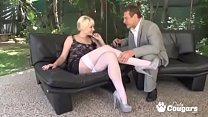 Nora Skyy Has Her MILF Pussy Pounded And Creamp...