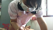 Asian thai teen very Horny fuck pussy with her Boyfriend