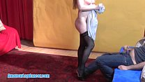 Skilled blonde gives sex for her horny guy [체코 czech]