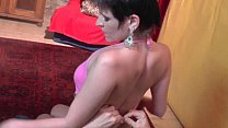 Lapdance and more by nasty girl with short haircut's Thumb