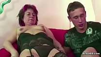 Mom catches step son watching porn and fucks him