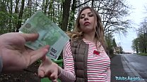 Public Agent Russian hotty loves daylight outdoor sex thumbnail