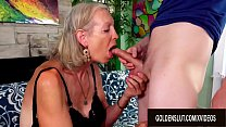 GILF Super Sexy Pleasures a y. Lover with Her Mouth and Aged Pussy