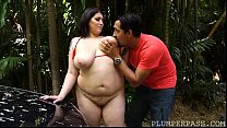 17853 Exotic Plumper Angel Gets All Wet Washing the Car preview