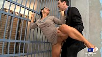 The lawyer fucks a milf in front of her husband