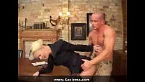thin milf assfu cked on table