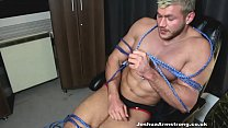 MUSCLE BONDAGE IN ROPE