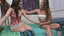 GIRLS GONE WILD - Young Teen BFFs Have Themsevles A Prive Party - 9Club.Top