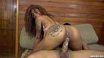 Ebony beauty Aniaty Barbosa fucked hard by Jack Kallahari