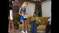 Two girls for a man hungry for anal sex! # 8