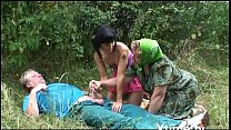 8666 A pic nic of a perverse family of farmers turns into an orgy! preview