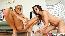 Greatest squirting lesbians ever filmed from Perfect Gonzo