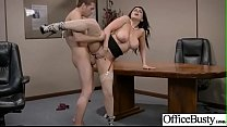 (Romi Rain) Round Big Boobs Office Girl Love Hardcore Sex clip-22