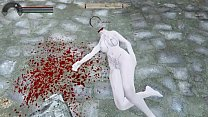 Skyrim ryona-Onean behead after being fucked