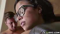 Maya Bijou enjoys banging with her roommates bf