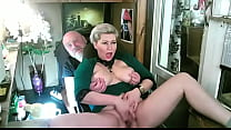 Slutwife for sale-10. I spread the legs of my depraved mature whore on live TV, she sucks my fingers, I slap her parted labia - in short, a quiet family evening ))