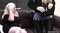 Blonde bbw gives head and rides his cheating cock