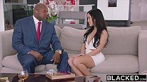 BLACKED Hot Megan Rain Gets DP'd By Her Sugar Daddy and His Friend Vorschaubild