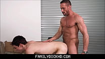 Twink Step Son And His Step Dad Fuck While Fixing Flat Bike Tire