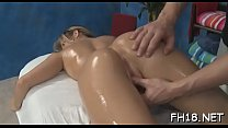 Cute, hot 18 year old gets drilled hard by her massage therapist
