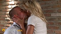 ORGASMS Young couple in love creampie for teen blonde's Thumb