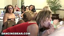 DANCING BEAR - A Wild CFNM Dick Sucking Orgy For The Bride To Be thumbnail