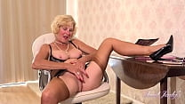 AuntJudys - Busty 56yo Cougar Ms. Molly at the Office
