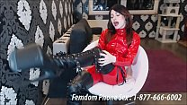 Foot and Shoe femdom phone sex fantasy [폰팅 phone]