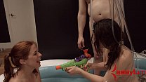 Penny Pax and Sarah Shevon compete in anal filth contest缩略图
