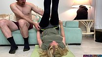 Image: Stepmom gets fucked by stepson while doing yoga to help his porn addiction - Erin Electra