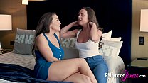 Abigail Mac and Rahyndee James have Intimate Lesbian Sex - 9Club.Top
