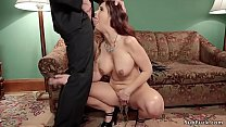 (katrina in sex) Big cock guy gives anal to mom and teen thumbnail