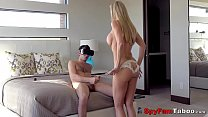 Screenshot Hot Stepmom Bra ndi Love Catches Son Jacking O s Son Jacking Off