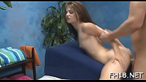 Sexy babe gets drilled hard and gives a massage! pornhub video