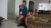 Young Babe Teaches Old Dog New Tricks