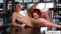 Skanky ladies Kendra and Kimmy goes fingering and pussy licking - sofia rose nude thumbnail