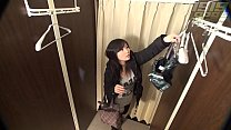 Beautiful Curvy Student Caught in Dressing Room