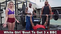 Chloe Temple Savagely Stuffed With BBC Courtesy Of Big Tre, Prince Yahshua & Pressure