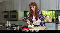 MYLF - Redhead Milf Gives Blowjob To Her Big Di...