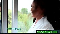 Hot asian masseuse gives pleasure to her client 22