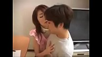 Japanese Milf and Son first Sex