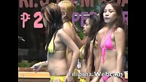 Asian girls bikini show Filipina.webcam models ...