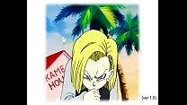 Dragon Ball Z - Android 18 sucking a penis/ Android 18 chupando um pau/ Android 18 chupando un pene