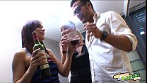 La fiesta sexual de Leyla Black - Full scene Threesome