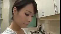 Japanese Asian Mom Cheating with her Young Son Image