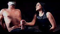 Screenshot Clair Brooks  and prey tied down to chair tapega...