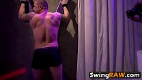 Swingers having orgy after night out in reality show preview image