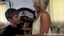While Her Husband Is Away, Kayla's Asshole Cheats! Preview