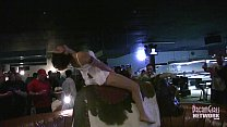 Hot Girls In Lingerie Bull Riding At Local Bar